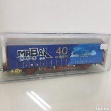 Trenes Escala: VAGON MABAR NÚMERO 00462 ELECTROTREN ESCALA H0 DE 14CMS. Lote 142644161