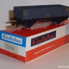 Trenes Escala: 0144-ELECTROTREN 1204 BORDE ALTO 7ª ZONA GRIS H0 - 1/87 . Lote 143222358