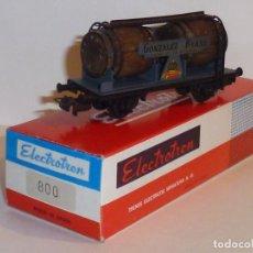 Trenes Escala: 0145-ELECTROTREN 800 VAGON FROUDE GONZALEZ BYASS H0 - 1/87. Lote 143224442