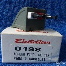 Trenes Escala: TOPE DE VIA, HO..ELECTROTREN...EN CAJA ORIGINAL... Lote 147041934