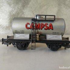 Trenes Escala: VAGÓN ELECTROTREN CAMPSA. Lote 150681918
