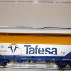 Trenes Escala: VAGÓN TOLVA CEREALES TAFESA DE ELECTROTREN ESCALA H0 REF.: 8003K. Lote 151417762