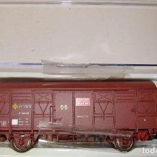 Trenes Escala: VAGON CERRADO ORE-1 RENFE TEF CON LUCES DE COLA REF,:1815K. Lote 151419834