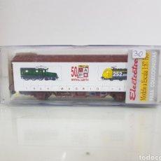 Trenes Escala: ELECTROTREN 1946 1996 50 ANIVERSARIO A.A.F. MADRID ESCALA H0 14 CM. Lote 156996301