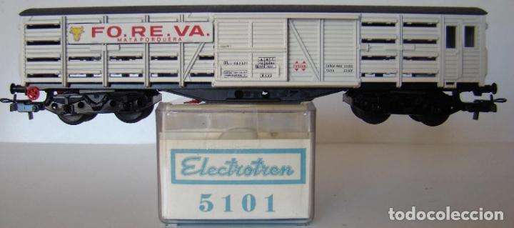 VAGON CERRADO FOREVA MATAPORQUERA, DE ELECTROTREN REF: 5101 ESCALA H0 (Juguetes - Trenes Escala H0 - Electrotren)