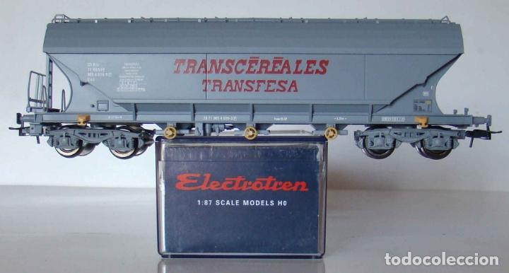 VAGON TOLVA TRANSCEREALES TRANFESA ESCALA H0 DE ELECTROTREN REF: 8001K segunda mano