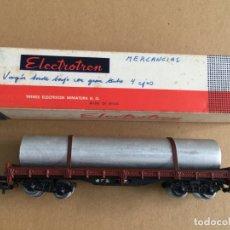 Trenes Escala: VAGÓN - ELECTROTREN EN CAJA ESCALA H0 - REF. 5125. Lote 166621330