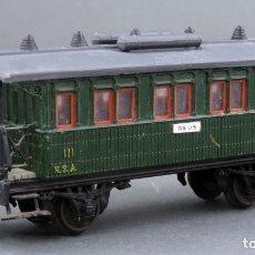 Trenes Escala: VAGÓN PASAJEROS MZA ELECTROTREN H0 REUS. Lote 167707592