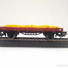 Trenes Escala: ELECTROTREN HO VAGON PLATAFORMA REF 100O. Lote 170431416
