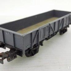 Trenes Escala: VAGON TRANSPORTE DE MERCANCIAS, ELECTROTREN, CAJA DE PLASTICO. Lote 173574404