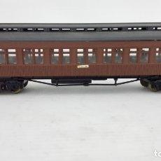 Trenes Escala: VAGON TRANSPORTE DE PASAJEROS, ELECTROTREN, MZA, CAJA DE PLASTICO ORIGINAL. Lote 173575028