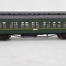 Trenes Escala: VAGON DE PASAJEROS MZA - TOLEDO, ELECTROTREN, CAJA DE PLASTICO ORIGINAL. Lote 173575563
