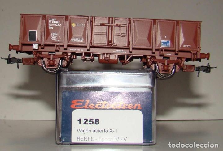 VAGON X-1 ELOS RENFE ESCALA H0 DE ELECTROTREN REF: 1258K (Juguetes - Trenes Escala H0 - Electrotren)
