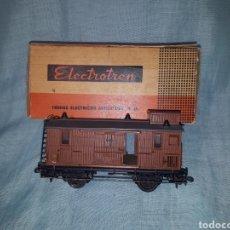 Trenes Escala: ELECTROTREN VAGÓN HO 856-M (C.MADERA). Lote 175809612