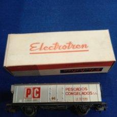 Trenes Escala: VAGÓN ELECTROTREN, PESCADOS CONGELADOS, H0, 1305. Lote 176060687