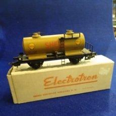 Trenes Escala: VAGÓN ELECTROTREN, SHELL, H0, 1306. Lote 176062879
