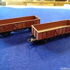 Trenes Escala: 2 VAGONES ELECTROTREN. Lote 176255153