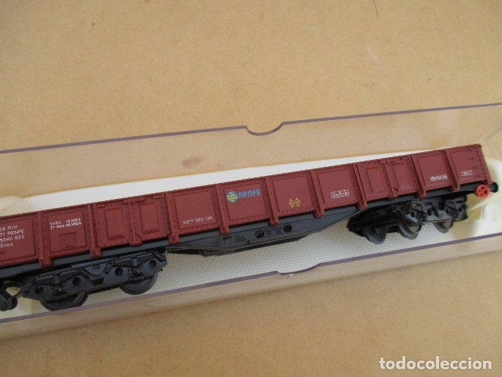 Trenes Escala: Electrotren vagon BOGIES bordes medios - Foto 2 - 179211943