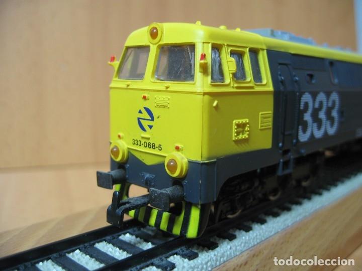 Trenes Escala: ELECTROTREN LOCOMOTORA 333 TAXI LA MAS POTENTE VA SIN CAJA VER FOTOS - Foto 8 - 179211976