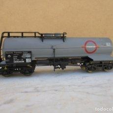 Trenes Escala: ELECTROTREN VAGON CISTERNADE BOGIES. Lote 179211992