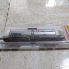 Trenes Escala: ELECTROTREN. VAGON CISTERNA TRANSFESA. REF. 5801K. EL DE LA FOTO.. Lote 182243428