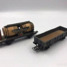 Trenes Escala: VAGONES ELECTROTREN H0. Lote 182568210