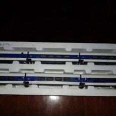Trenes Escala: ELECTROTREN HO 3245K TALGO GRANDES LINEAS LUZ COLA. Lote 184688197