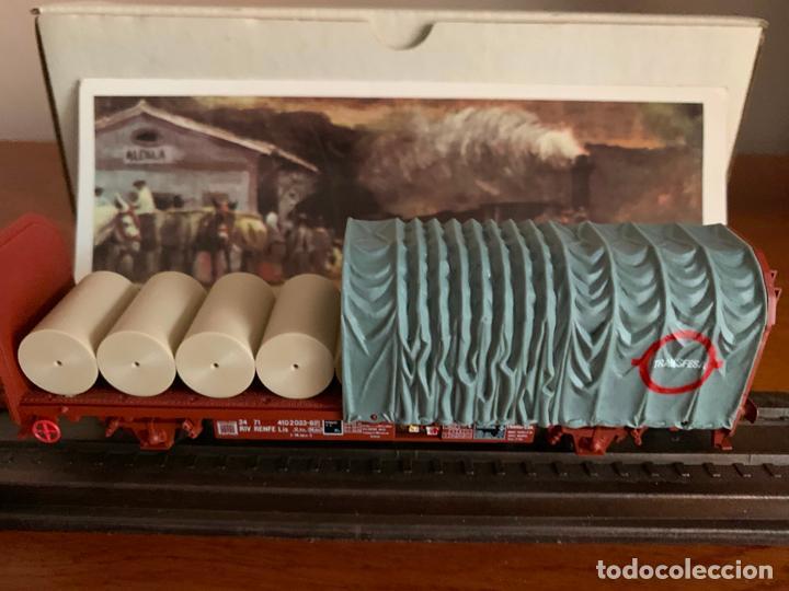 Trenes Escala: ELECTROTREN H0 VAGON TRANSFESA NAVIDAD 1977 - Foto 2 - 185835800