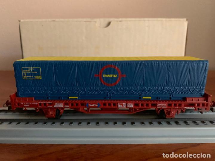 Trenes Escala: ELECTROTREN H0 VAGON TRANSFESA NAVIDAD 1980 - Foto 2 - 185864890