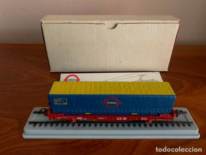 Trenes Escala: ELECTROTREN H0 VAGON TRANSFESA NAVIDAD 1980 - Foto 3 - 185864890