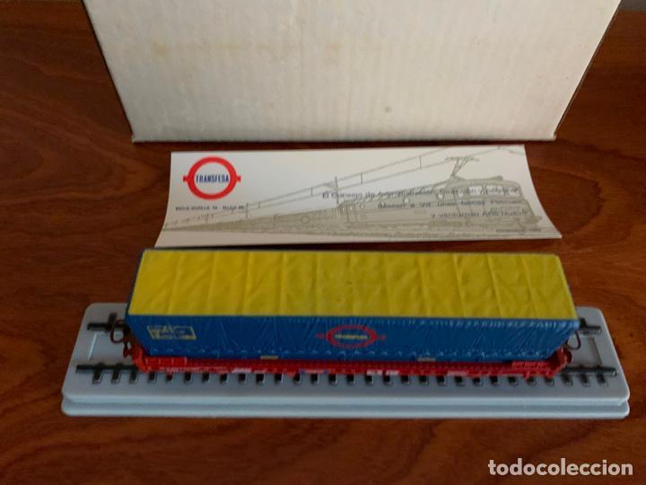 Trenes Escala: ELECTROTREN H0 VAGON TRANSFESA NAVIDAD 1980 - Foto 4 - 185864890