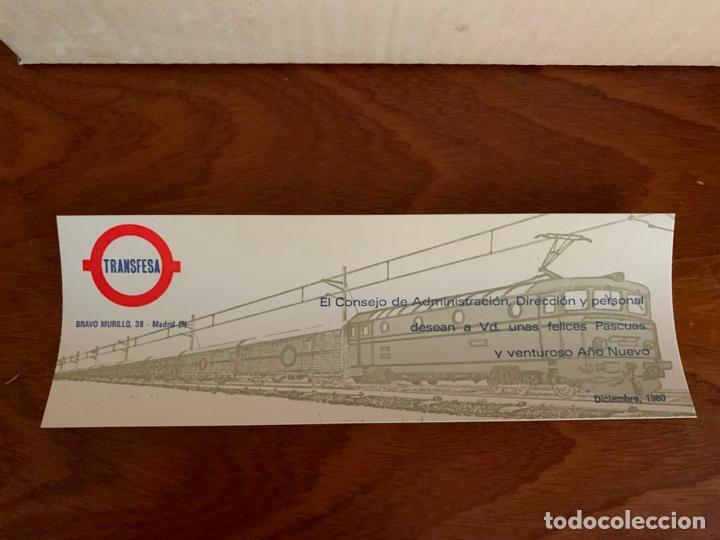 Trenes Escala: ELECTROTREN H0 VAGON TRANSFESA NAVIDAD 1980 - Foto 5 - 185864890