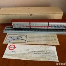Trenes Escala: ELECTROTREN H0 VAGON TRANSFESA NAVIDAD 1981. Lote 185872037