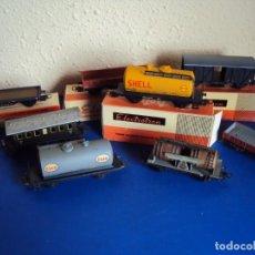 Trenes Escala: (JU-191245)LOTE DE 8 VAGONES ELECTROTREN. Lote 188474388