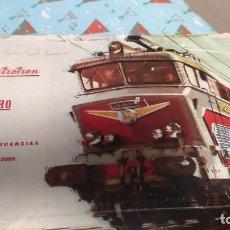 Trenes Escala: TREN DE MERCANCÍAS DE ELECTROTREN RED 3002 ESCALA H0 . Lote 188638085