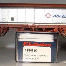 Trenes Escala: ELECTROTREN VAGON PUERTAS CORREDIZAS TRANSFESA REF: 1595 ESCALA HO. Lote 208804142