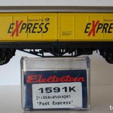 Trenes Escala: ELECTROTREN VAGON PUERTAS CORREDIZAS DE LA DB REF: 1591 ESCALA HO. Lote 234028880