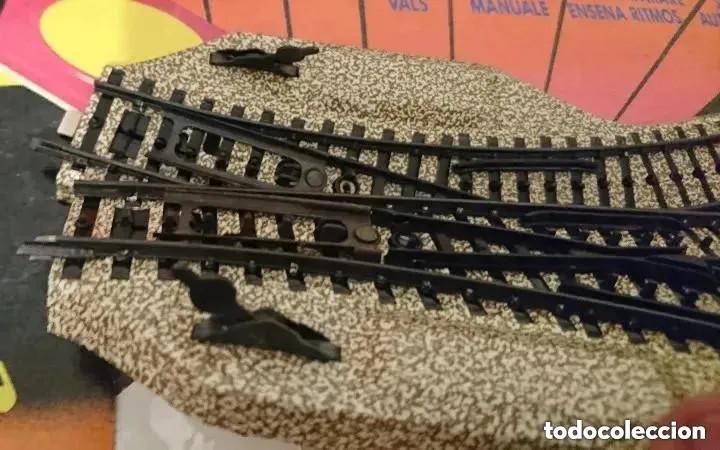 Trenes Escala: OCASION COLECCIONISTAS CAJA PAR DESVIOS CON MANDO A PALANCA 190-M ELECTROTREN años 80 - Foto 2 - 192923316
