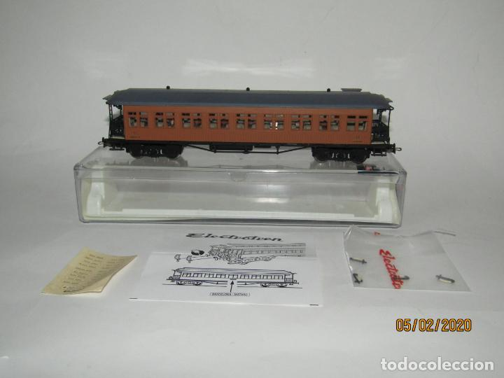 Trenes Escala: Descatalogado Coche Costa 2ª Clase RENFE BB-2455 Ref. 5049K en Escala *H0* de ELECTROTREN - Foto 4 - 193240755