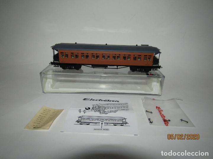 DESCATALOGADO COCHE COSTA 2ª CLASE RENFE BB-2455 REF. 5049K EN ESCALA *H0* DE ELECTROTREN (Juguetes - Trenes Escala H0 - Electrotren)