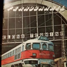 Trenes Escala: N°1 REVISTA FERROCARRIL, MAYO 1980. Lote 193356302