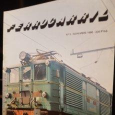 Trenes Escala: N° 5 REVISTA FERROCARRIL, NOVIEMBRE 1980. Lote 193357561
