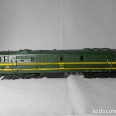 Trenes Escala: LOCOMOTORA DIESEL RENFE ESCALA HO DE ELECTROTREN. Lote 193427763