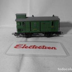 Trenes Escala: VAGÓN FURGON ESCALA HO DE ELECTROTREN . Lote 193744190