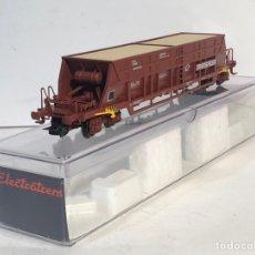Trenes Escala: ELECTROTREN VAGÓN MERCANCÍAS TRANSFESA ESCALA H0, NUEVO. Lote 194510115