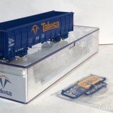Trenes Escala: ELECTROTREN VAGÓN BORDES ALTOS TAFESA ESCALA H0, NUEVO. Lote 194510903