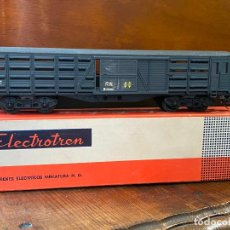 Trenes Escala: ELECTROTREN H0 5103 - VAGÓN RN CUATRO EJES JAULA GANADO RENFE. Lote 195015091