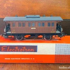 Trenes Escala: ELECTROTREN - VAGÓN DE PASAJEROS TOLEDO - ESCALA H0, CON CAJA,. Lote 195015937