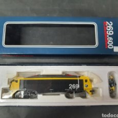 Trenes Escala: LOCOMOTORA ELECTROTREN NUEVA EL GATO MONTES. Lote 196605958