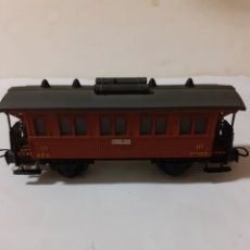 Trenes Escala: ELECTROTREN VAGON PASAJEROS BARCELONA. Lote 197764618